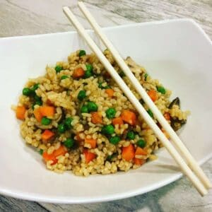 IMG_2983-2-300x300 Oil-Free Vegetable No Fried Rice
