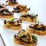 IMG_3061-300x300-1-150x150 Oil-Free Rosemary and Thyme Mushroom Bruschetta