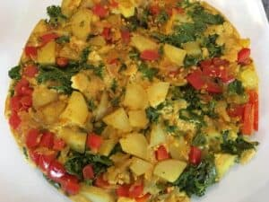 vegan-potato-and-kale-frittata-5-1300x975-e1530557974873-300x225 Vegan Kale and Potato Frittata