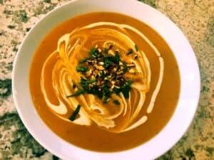 45910891231_69ab5e52b5_o-300x225 Creamy Butternut Squash and Potato Soup