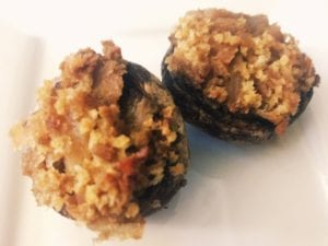 32715891948_123bda9b7f_o-300x225 Vegan Sausage Stuffed Mushroom Appetizer