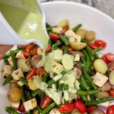 Green bean salad dressing