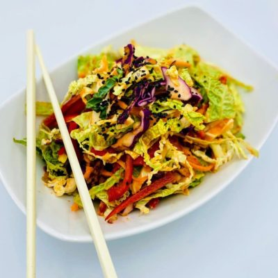 Cabbage Asian Salad